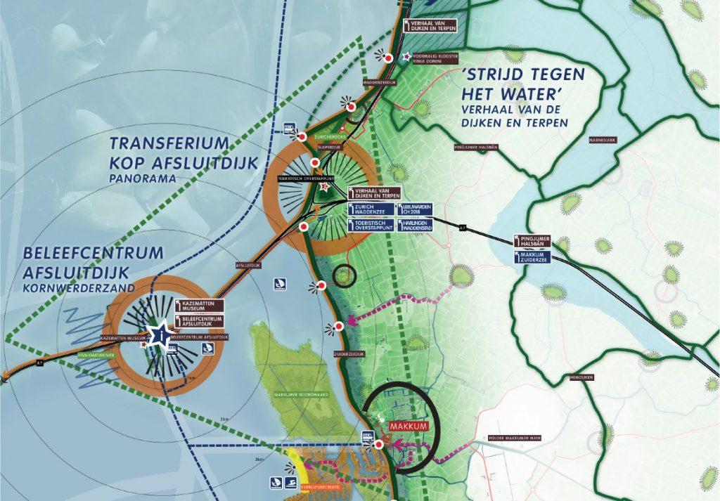 Waddenpark afsluitdijk en cultuurtoerisme