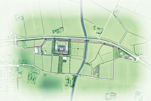 Routekaart Verhildersum